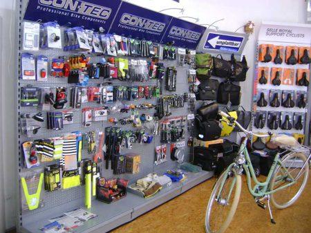 Hier findest du alles was dein Fahrrad begehrt.
