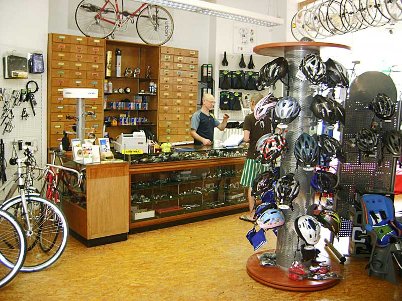 Herzlich Willkommen in der Fahrradschmiede.