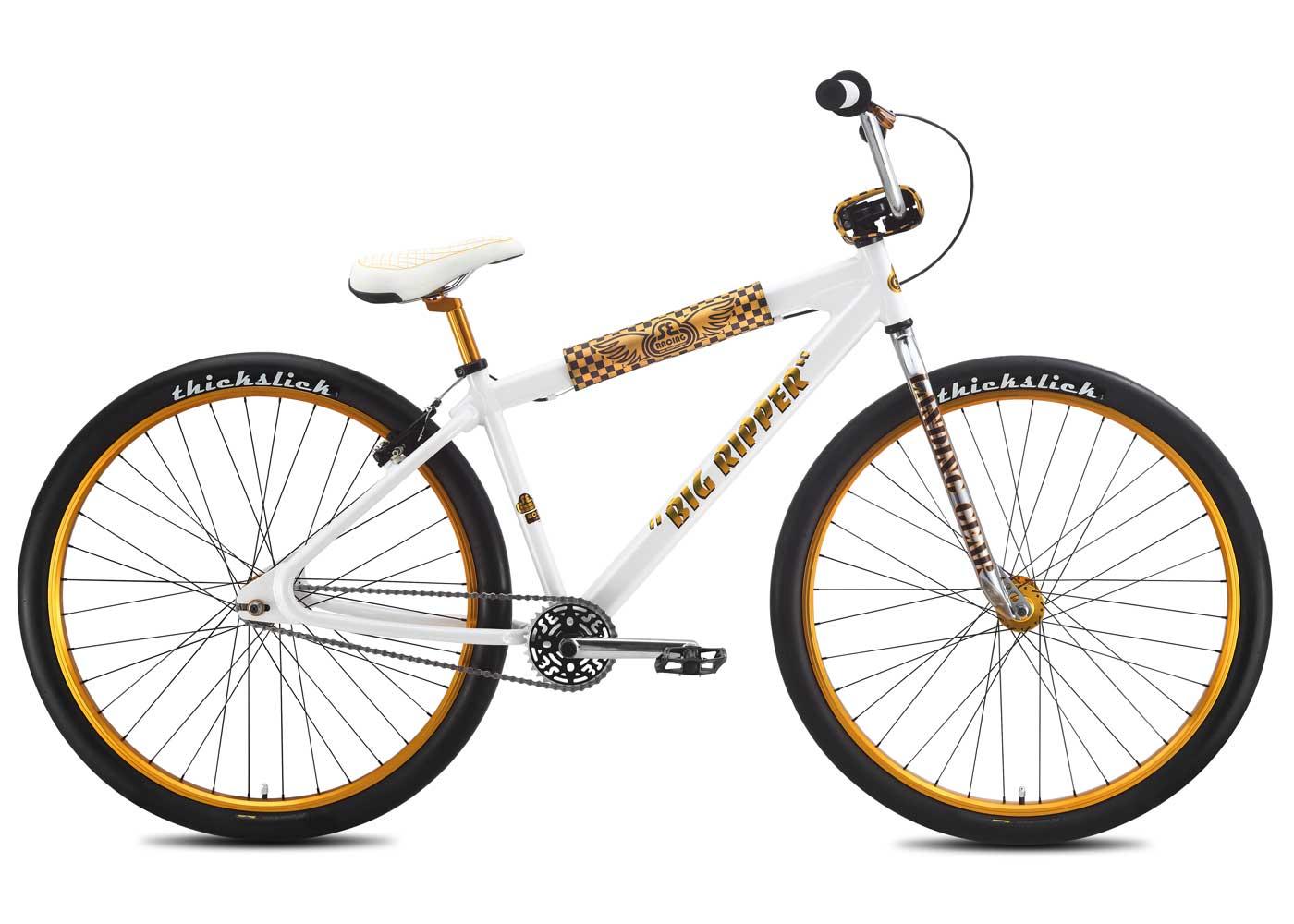 SE/Big Ripper - Ein starkes BMX-Rad und von jeher ein Hingucker.